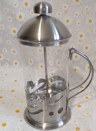 Чайник для заварювання френч-прес 600мл., фото 2