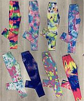 Стильные детские лосины с принтом Тай-Дай 5-9 лет, цвет уточняйте при заказе