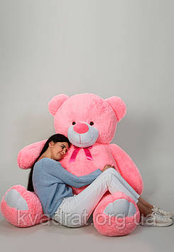 Плюшевий ведмедик Вэтли 200 см Рожевий