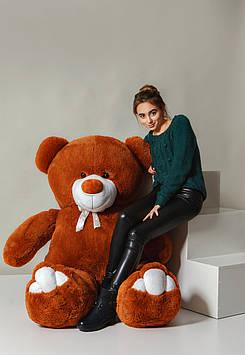 Плюшевий ведмедик Вэтли 200 см Шоколадний з Білим