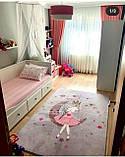 """Плюшевый утепленный детский коврик """"Маленькая принцесса"""", фото 3"""