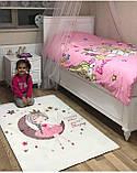 """Плюшевый утепленный детский коврик """"Маленькая принцесса"""", фото 4"""