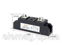 150A Твердотільне реле BERM MGR-H1150Z AC SSR промислове