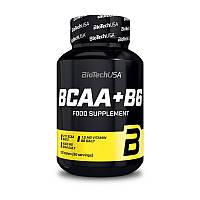 Аминокислоты bcaa BioTech BCAA + B6 (100 tabs)
