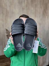 Шльопанці чоловічі Adidas Adilette Boost Triple Black EH2256, фото 3