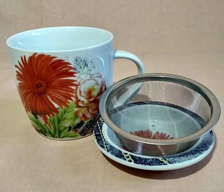 Чашка-заварник    300 мл., фото 2