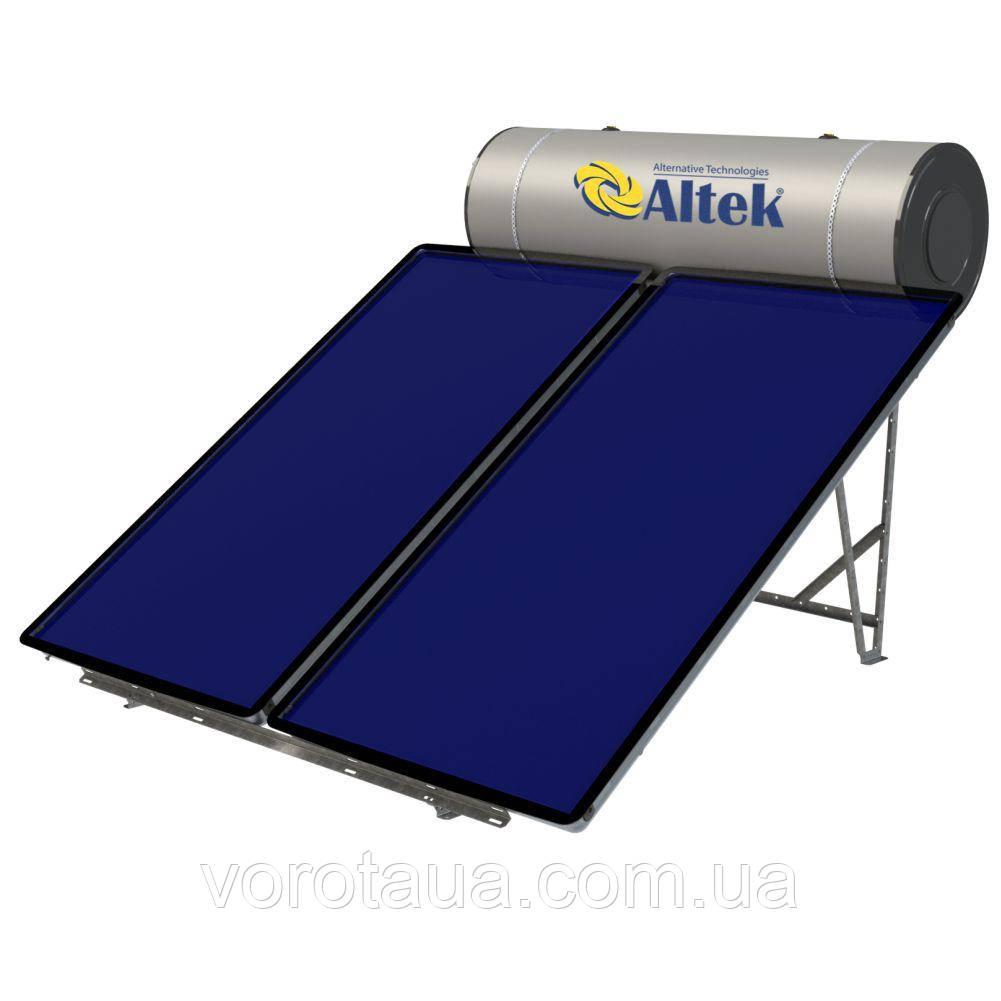Система солнечного нагрева воды с плоскими коллекторами ALTEK LIGERO 300