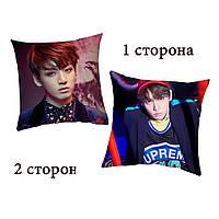 Подушка К-pop Чонгук BTS двухсторонняя (podushka0144)
