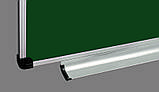 Дошка для крейди 400x100 см в алюмінієвій рамці ABC Office трисекційна зелена, фото 2