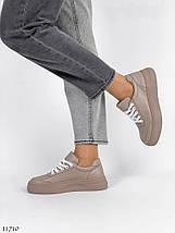 Натуральні кросівки жіночі 4847 (СБ), фото 2