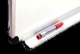 Дошка магнітно-маркерна 100х150 см в алюмінієвій рамі S-line ABC. Магнітно-маркерна дошка, фото 2