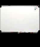 Дошка магнітно-маркерна 100х150 см в алюмінієвій рамі S-line ABC. Магнітно-маркерна дошка, фото 4