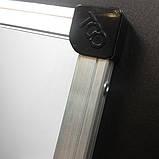 Магнитно-маркерная доска в алюминиевой раме TCO Все размеры. Белая доска для рисования маркером, фото 3