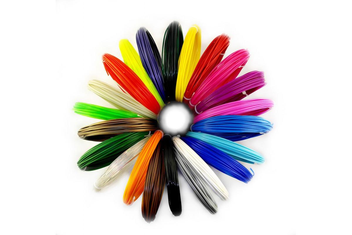 Набор пластика ABS для 3D ручки 120 метров 12 цветов (FL-1223)