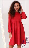 Замшева вільна сукня 047 В / 04, фото 1