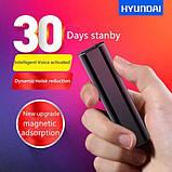 Диктофон Hyundai K705 8 ГБ Чорний (100294), фото 2