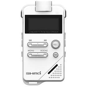 Професійний диктофон цифровий стерео PCM Shmci D30 16 Гб (100610)