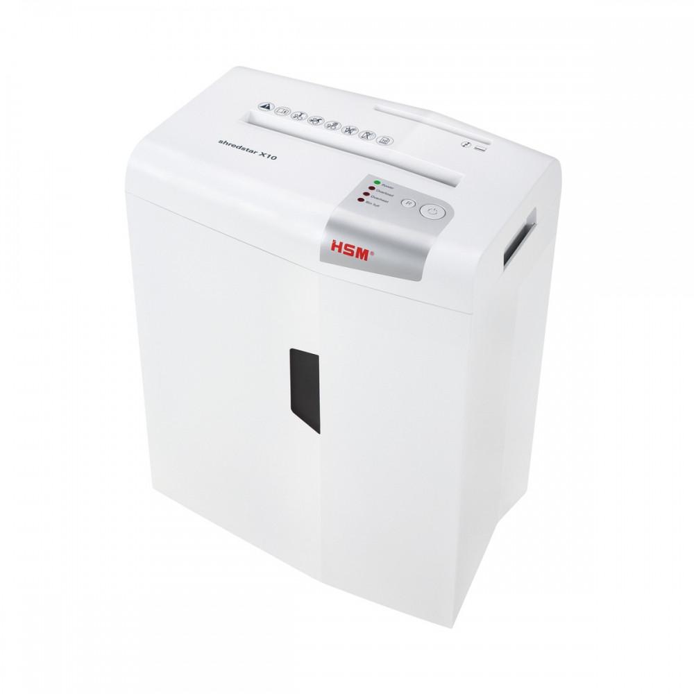 Шредер измельчитель для бумаги HSM shredstar X10 4.5x30 (4026631057769). Уничтожитель документов и бумаг