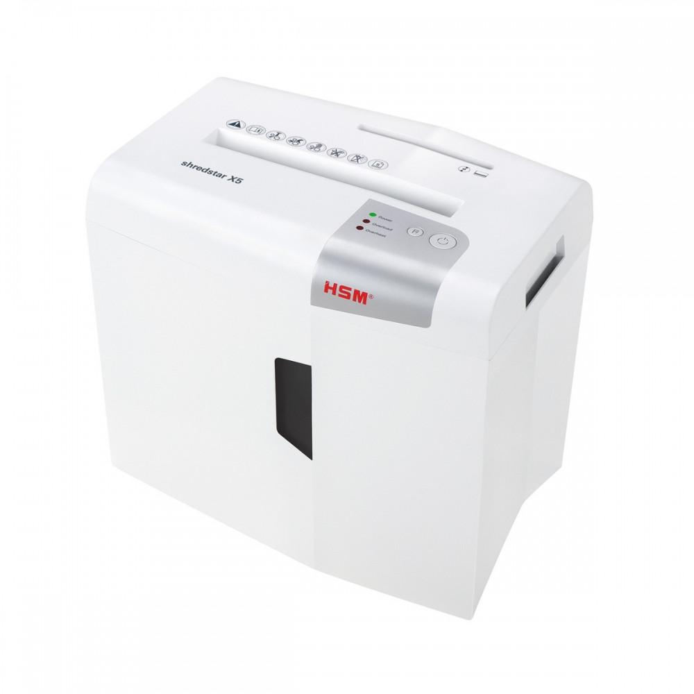 Шредер измельчитель для бумаги HSM shredstar X5 4.5x30 (4026631057721). Уничтожитель документов и бумаг