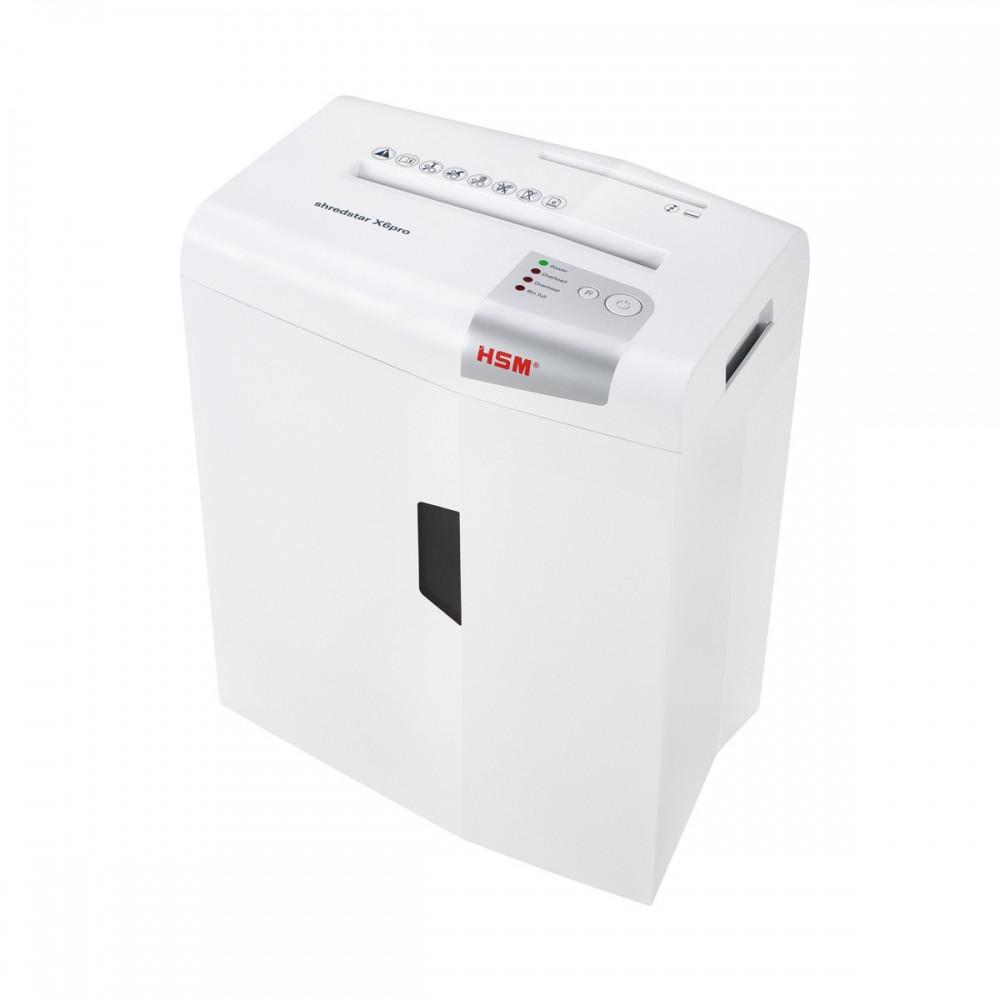 Шредер измельчитель для бумаги HSM shredstar X6 pro 2x15 (4026631057776). Уничтожитель документов и бумаг