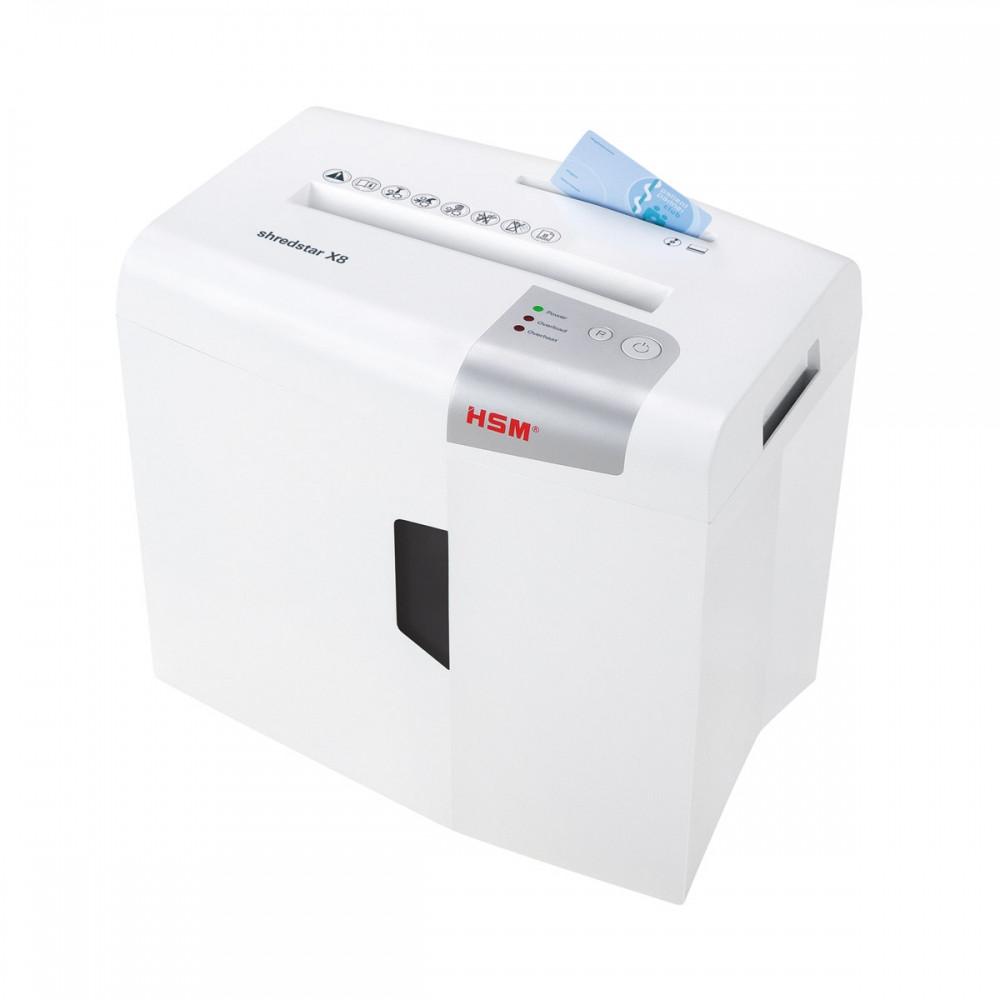 Шредер измельчитель для бумаги HSM shredstar X8 4.5x30 (4026631057738). Уничтожитель документов и бумаг