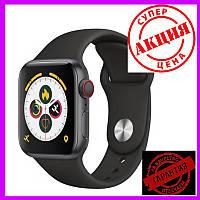 Смарт часы Smart Watch X7, голосовой вызов, умные часы цвет черный.Smart Watch X7.Смарт часы X7
