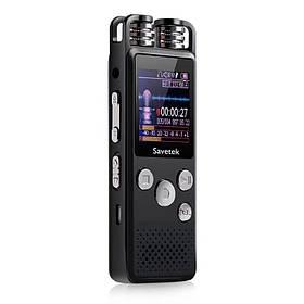 Профессиональный цифровой диктофон для журналиста Savetek GS-R07 16 Гб (100359)