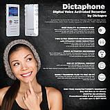 Професійний цифровий диктофон Joxin K6, 8 Гб, фото 5