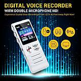 Професійний цифровий диктофон Joxin K6, 8 Гб, фото 6