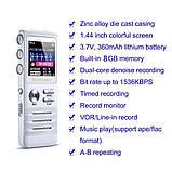 Професійний цифровий диктофон Joxin K6, 8 Гб, фото 9