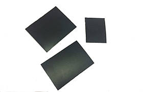 Ценник-табличка черный меловой, металлический