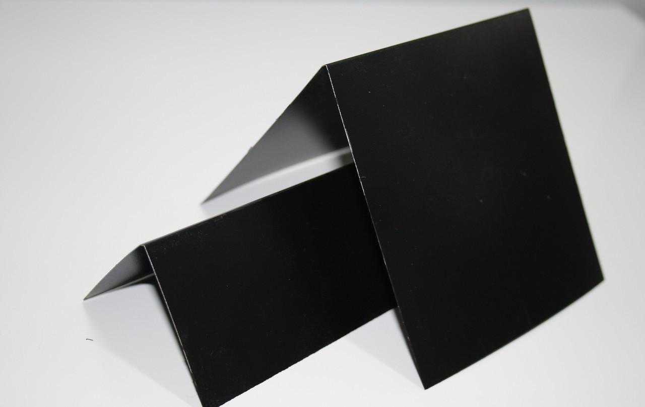 Меловой металлический ценник V-образный двухсторонний для надписей мелом и маркером грифельный.