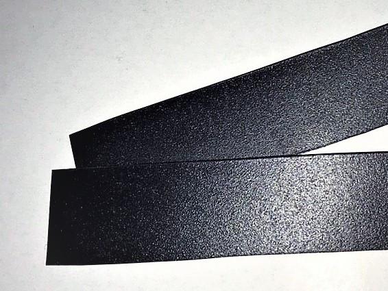 Полочный меловой металлический ценник с магнитной полосой