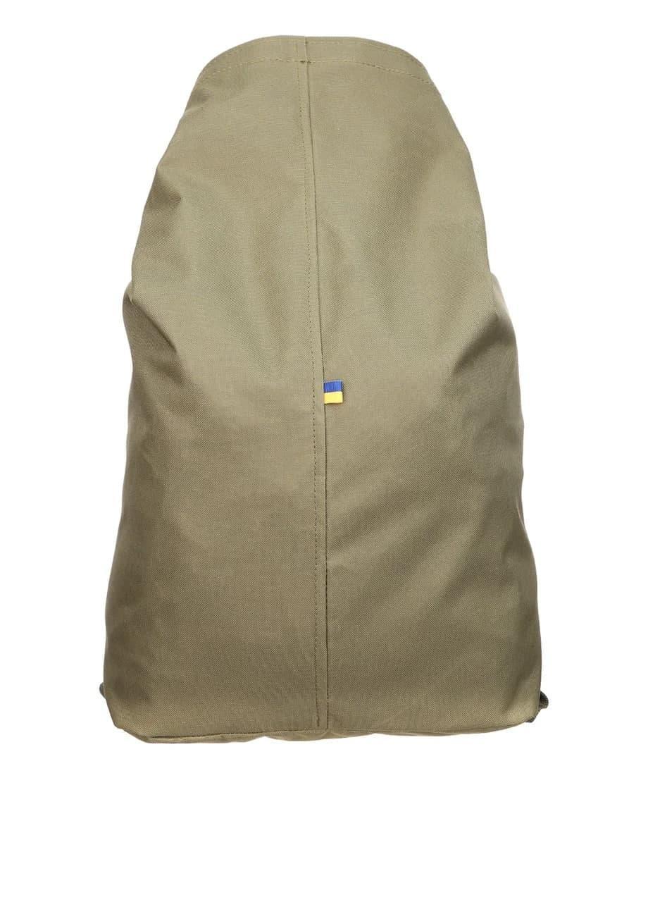Тактическая транспортная сумка-баул мешок армейский Trend олива  на 25 л с Oxford 600 Flat