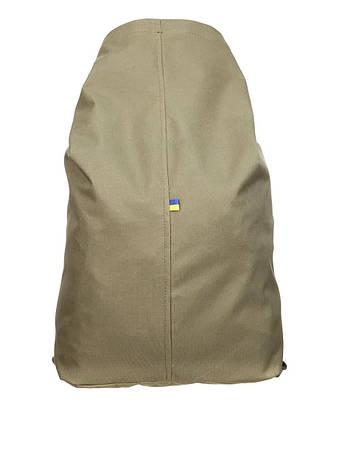 Тактическая транспортная сумка-баул мешок армейский Trend олива  на 25 л с Oxford 600 Flat, фото 2