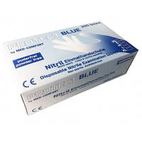 Перчатки нитриловые BLUE BASIC PLUS XS нестерильные без пудры 200 шт/пач