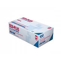 Перчатки нитриловые ECO PLUS XL нестерильные без пудры 100 шт/пач