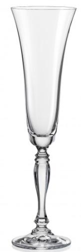 Набір келихів для шампанського Bohemia Victoria 190 мл 2 шт 40727/K0106/180