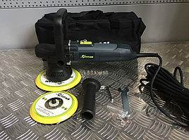 Ротационно-эксцентриковая полировальная машина TDA09 TITAN 90 - 150/9 мм