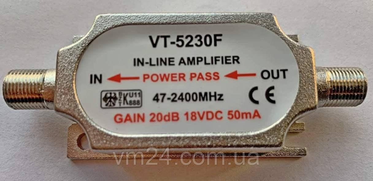 Усилитель антенный  VT-5230F DVB-T2-5v\12v