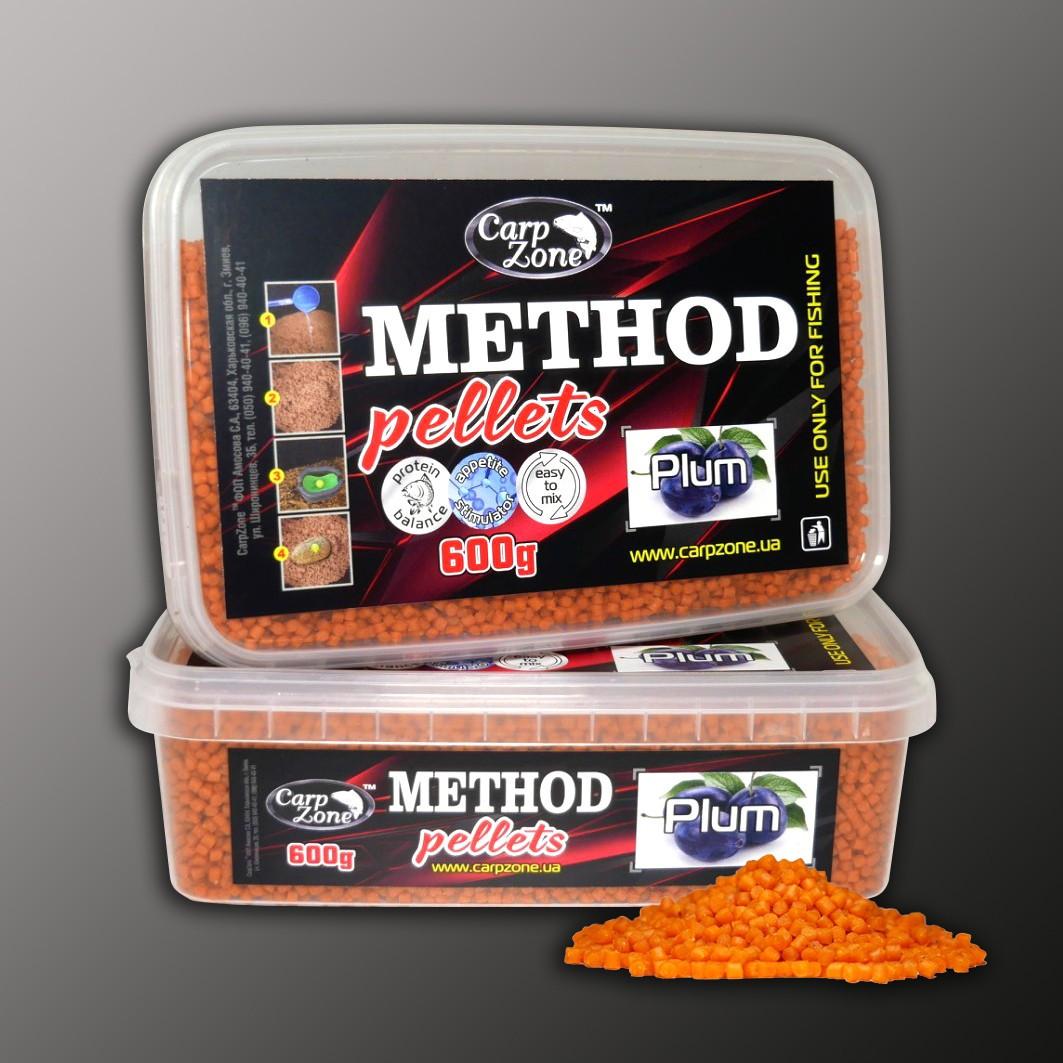Метод пеллетс Method Pellets Plum (Слива) 600g 3mm