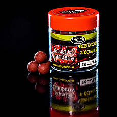 Бойли насадкові варені Boilies P-Complex Instant Hookbaits Squid & Cranberry (Кальмар і Журавлина) 14mm/35pc