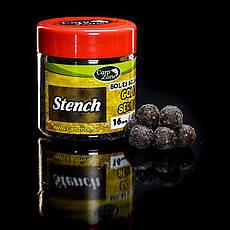Бойлы насадочные пылящие Boilies Gold series Soluble Hookbaits Stench (Белачан-Чеснок-Специя) 16mm/45pc