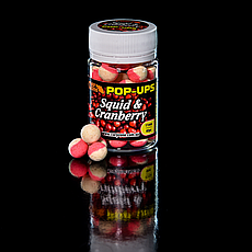 Поп Ап Pop-Ups Fluro Squid & Cranberry (Кальмар і Журавлина) 12mm/30pc