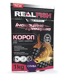 """Прикормка Real Fish """"Короп"""" (Зливу)"""