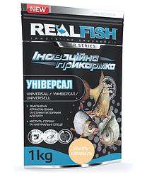 """Прикормка Real Fish """"Універсал"""" (Ваніль - Карамель)"""