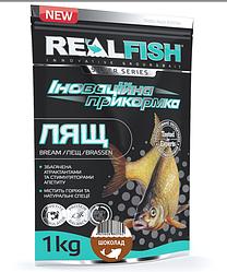 "Прикормка Real Fish ""Лещ"" (Шоколад)"