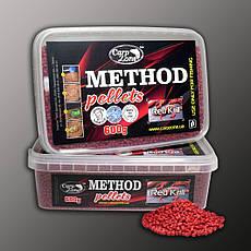 Метод пелети Method Pellets Red Кrill (Червона Креветка) 600g 3mm