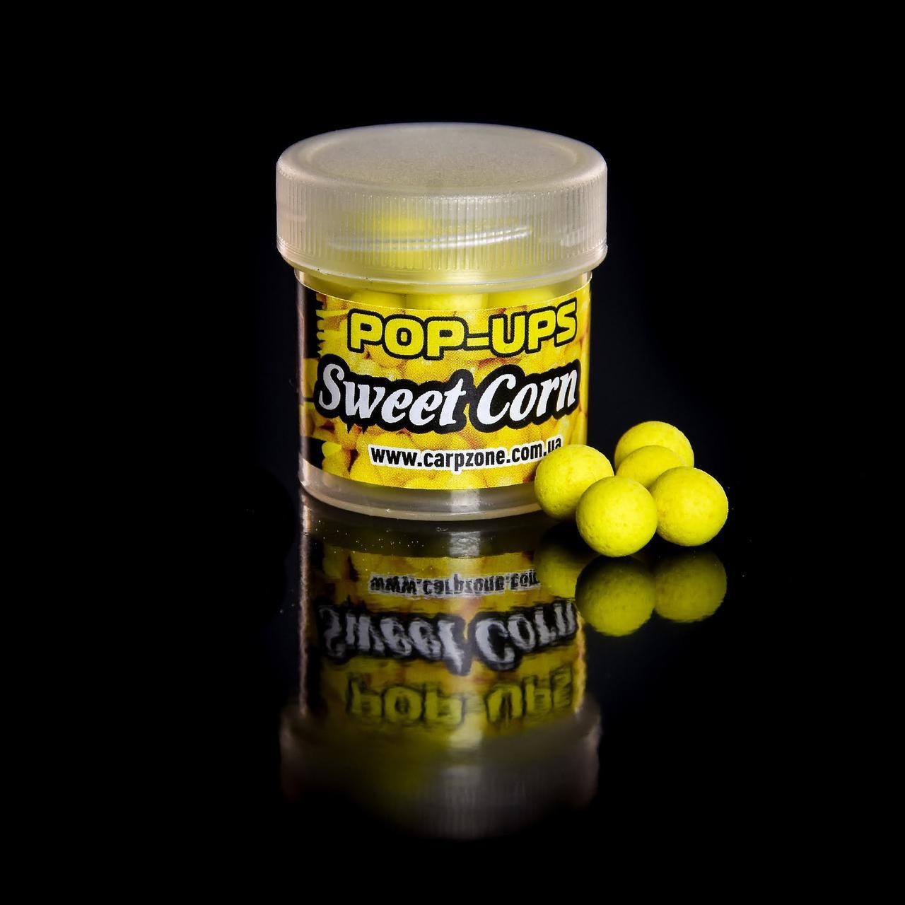 Поп Ап CarpZone Pop-Ups Method & Feeder Sweet Corn (Сахарная Кукуруза) 8mm/30pc