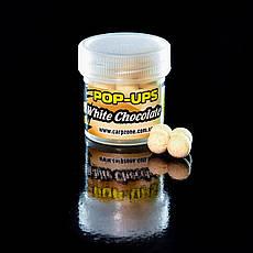 Поп Ап CarpZone Pop-Ups Method & Feeder White Chocolate (Білий Шоколад) 8mm/30pc